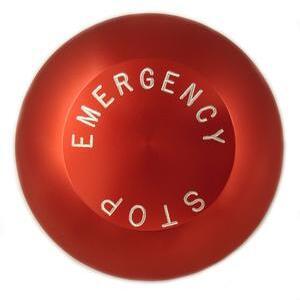 Eaton 10250TJ63 Push Button, 30mm, Push-Pull, Red, 65mm, Aluminum, EMERG. STOP
