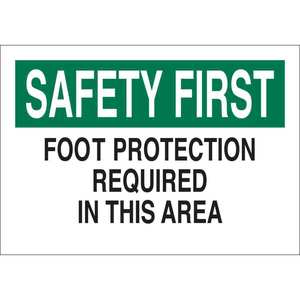 25241 PROTECTIVE WEAR SIGN