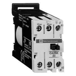 Square D CA2SK20G7 Relay, Control, 2P, 2NO, 0NC, 120VAC Coil, Screw Clamps