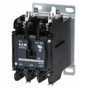 Eaton C25DND230A Contactor, Definite Purpose, 2P, 30A, 110 -120VAC Coil, 600VAC