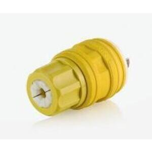 14W15 YEL WETGUARD PLUG GROUND 15A347VAC