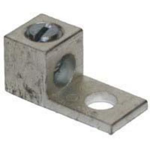 "Ilsco TA-0 Mechanical Lug, 1-Hole, Aluminum, (1) 14 - 1/0 AWG CU/AL, 1/4"" Stud Size"
