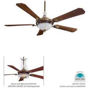 Minka Lighting F900-BCW CRISTAFANO CEILING FAN
