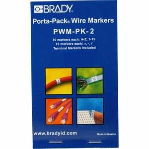 PWM-PK-2 PORTA-PACK MARKERBOOK A-Z 0-15