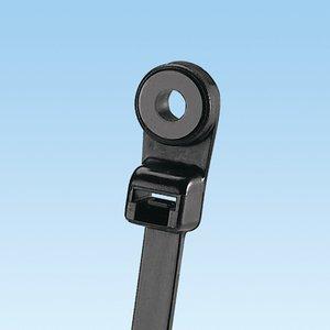 "Panduit SC8-50-S10-C0 Cable Tie, Screw Mount, UV Rated Nylon, Black, 7.87"" Long, 100/PK"