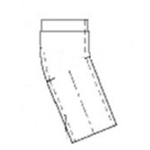 Fabricated Tube Products FTPMGE1100108 Tube Fitting, Elbow, 22°, Copper