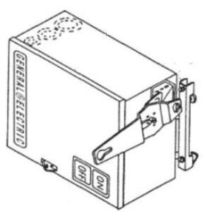 GE FVK363R Busway, Bus Plug, Fusible, 3PH, 100A, 600VAC, Type QMR