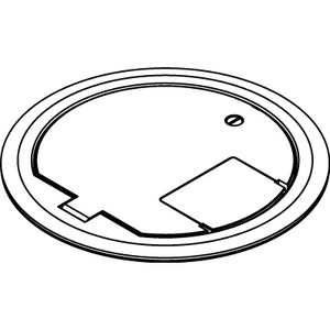 Wiremold CRFBBTCNK Cover Assembly, Nickel
