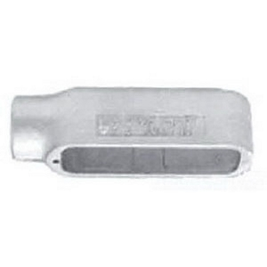"Appleton E50-A Conduit Body, Type: E, Size: 1/2"", Form 85, Aluminum"