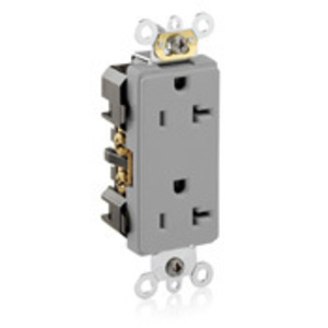 16362-GY GY REC DEC DUP 2P/3W 20A125V