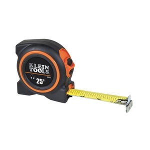 Klein 93225 Tape Measure, Magnetic Dual End-Hook, Double-Sided, 25'