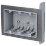 3FWSW 3 GANG PLASTIC AIRTITE BOX