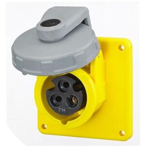 Hubbell-Wiring Kellems HBL320R4W PS, IEC, RECP, 2P3W,