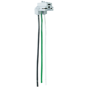 """Pass & Seymour PTRA6-SOL PlugTail Connector, Right Angle, Solid, 6"""" Long"""