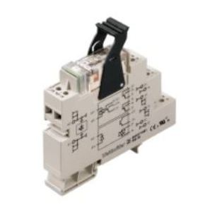 Weidmuller 8530631001 Relay Assembly, 2P, 24VDC, 8A, Plug series, Screw Connection *** Discontinued ***