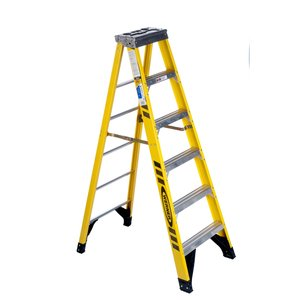 Werner Ladder 7306 6' Step Ladder, Type IAA, 375 lbs