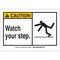 26578 B401 10X14 ANSI BLK,YEL/WHT WATCH,