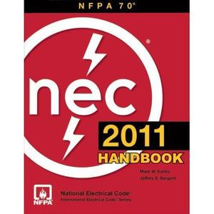 W Marketing 7011SB NFPA 70 National Electrical Code Book, 2011 Edition, Paperback