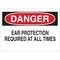 25480 EAR PROTECTION SIGN