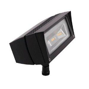 RAB FFLED18/PC Flood Light, LED, w/ Photocell, 18W, Bronze