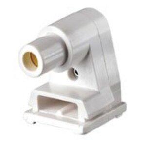 Leviton 2536 Fluorescent Lampholder, Slimline Base, White