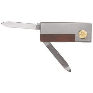 44031 MONEY CLIP POCKET KNIFE/NAIL FILE