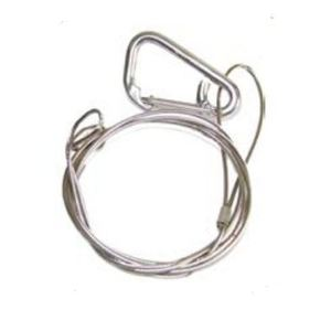 """Dialight H6XCAB72 Stainless Steel Safety Rope, 84"""""""