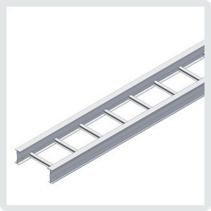 "Cablofil 09-4A12B-S144-12 Ladder Tray, Aluminum, 4"" High, 12' Long, 12"" Wide"