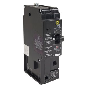Square D EDB14030EPDBA Breaker, Bolt On, 1P, 30A, 277VAC, 18kAIC, Thermal Magnetic, EPD