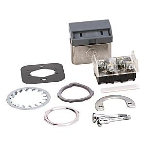 Allen-Bradley 800H-WK4A Push Button, Flip Lever Operator, Gray, 1NO/1NC, Contacts