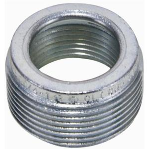 "Appleton RB150125A Reducing Bushing, Threaded, 1-1/2"" x 1-1/4"", Aluminum"