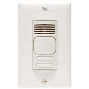 Hubbell-Kellems AD1277W2 Occupancy Sensor, Dual Technology, Wall Mount, 180°, White *** Discontinued ***