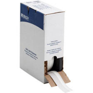 Brady BM71C-250-342 Heat Shrink, Wire Marking Sleeve, White