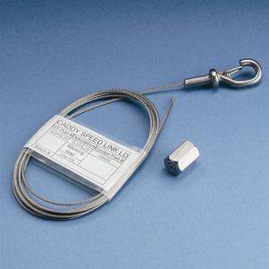 nVent Caddy SLK15L3 Speed Link Ld,1.5mm X 3m Galvanized Wire