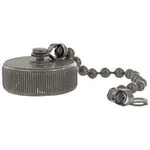 70143240 Dust Cap for Size 16 Plug, with Bead Chain