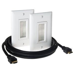 ON-Q HT2000-WH-V1 Prem Inwall Hdmi Signal Distri Kit