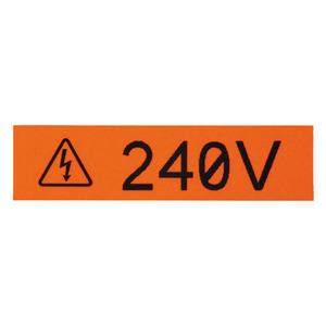 "Panduit T050X000VPC-BK Continuous Tape Cassette, Thermal Transfer, 1/2"", 25', White"