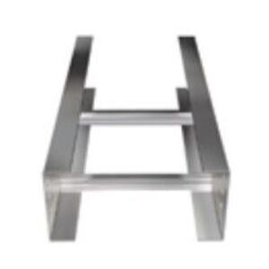 """Husky A9X1-36-240 Ladder Type Cable Tray, Aluminum, 6"""" Rung Spacing, 36""""W x 20' Long"""