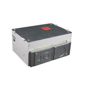Wiremold EFB45S Floor Box, 4-Gang
