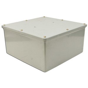 "Multiple 12X12X4-JCT-BOX-W/CVR Junction Box, NEMA 4X, Screw Cover, 12"" x 12"" x 4"""