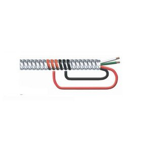 Multiple MCAL83STRWG-CUT MC Cable, Aluminum Flex, 8/3 w/Ground, Stranded, Cut to Length