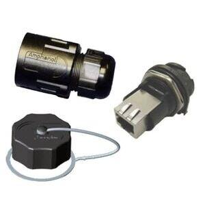 Sixnet EB-RJF-CAP-1 SIX EB-RJF-CAP-1 CAP W/ TETHER FOR
