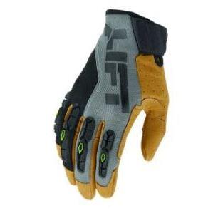 Lift Safety GHR-17CFBRM Handler Glove, Gray/Black, Medium