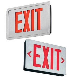 Lithonia Lighting LES2R120/277 Emergency Exit Sign