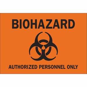 22212 BIOHAZARD (BLOODBORNE PATHOGEN) SI