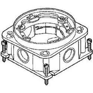 Hubbell-Raco 6261 Cncrt Box Flr Rnd Ful Adj Cast