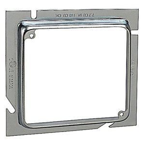 Steel City 82-52E-1/2 5-SQ X 4-SQ EXT RING 1/2-IN