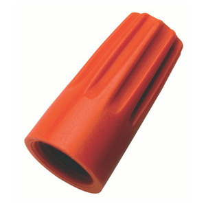 Ideal 30-273 Wire Connector, 22 to 14 AWG, 600V, Orange, 500PK