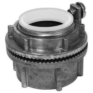 "Appleton HUBG50A Grounding Hub, 1/2"", Insulated, Gasketed, Watertight, Aluminum"