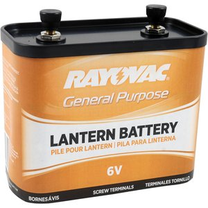 Rayovac 918 6V Lantern Battery, Limited Quantities Available *** Discontinued ***